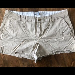 OLD NAVY Beige Shorts Size 12
